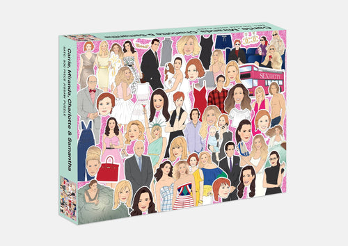 Sex and the City 500 Piece Puzzle Gift Abrahms and Chronicle