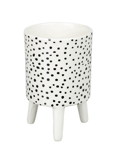 Small Dotty Ceramic Planter Homeware Parlane