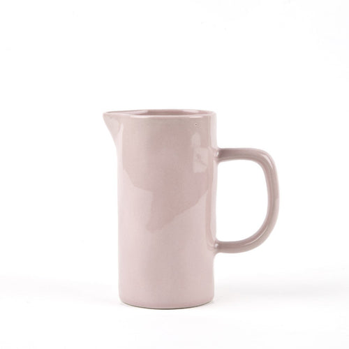 Small Pale Pink Jug Homeware Quail