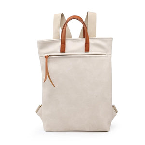Stone Canvas Style Rucksack Accessories House of Milan