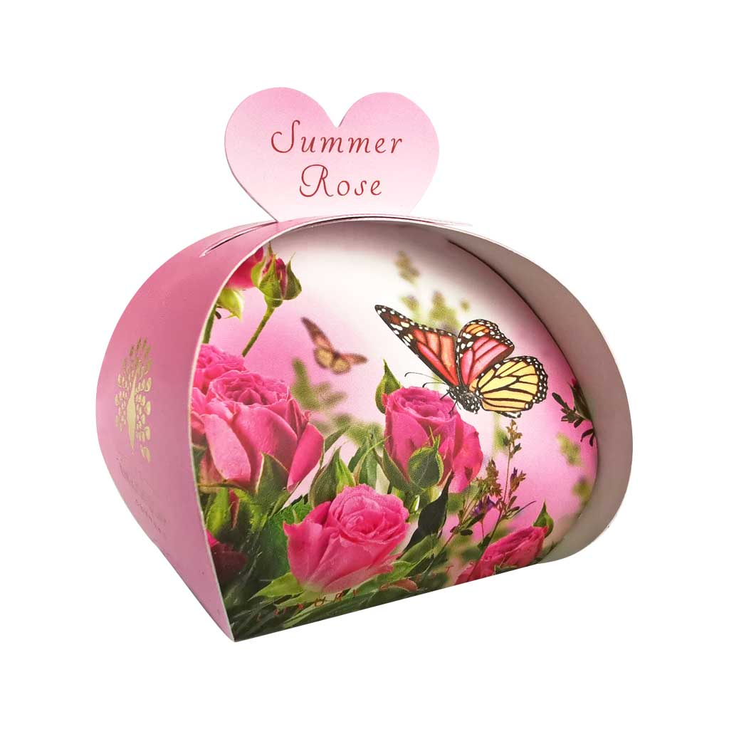 Summer Rose Guest Soap Beauty English Soap Company