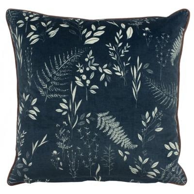 Teal Fern Cushion Soft Furnishing Riva Home