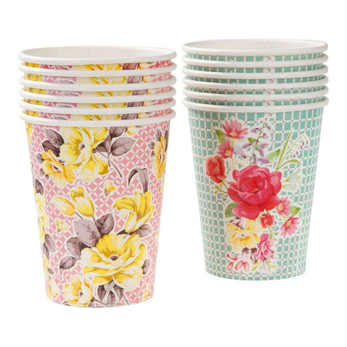 Truly Scrumptious Paper Cups Party Talking Tables