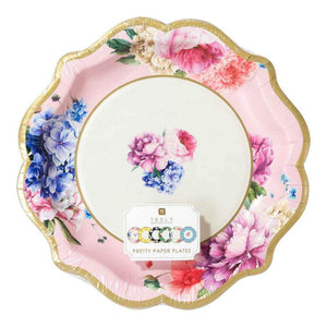 Truly Scrumptious Paper Plates Party Talking Tables
