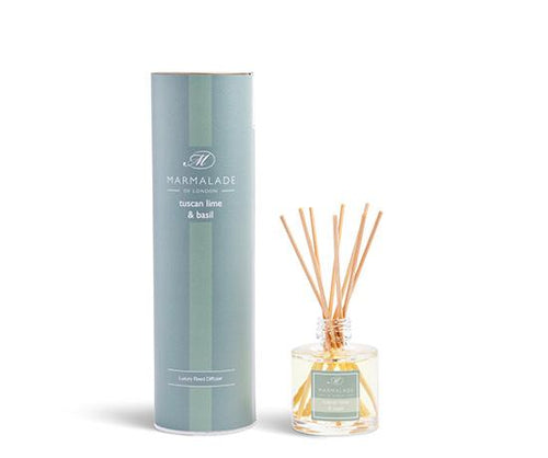 Tuscan Lime and Basil Reed Diffuser Home Fragrance Marmalade
