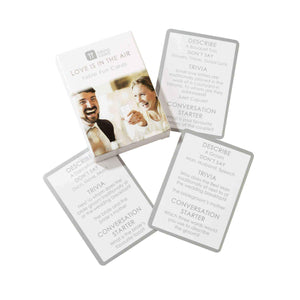 Wedding Ice Breaker Cards Party Talking Tables