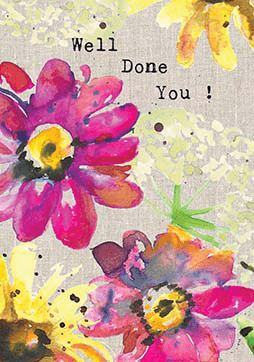 Well Done You Card Stationery Sarah Kelleher