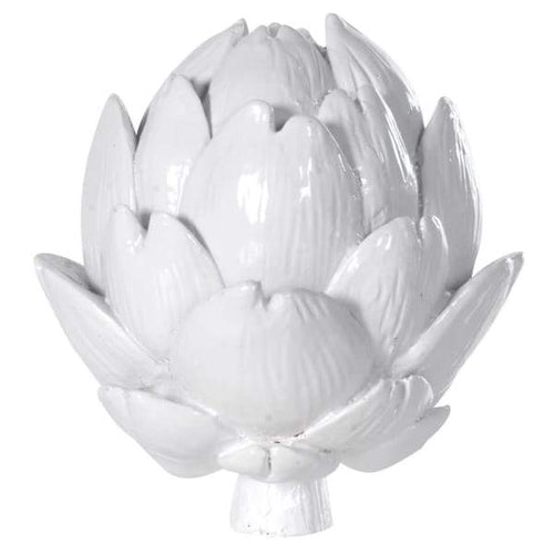 White Artichoke Decoration Homeware Coach House