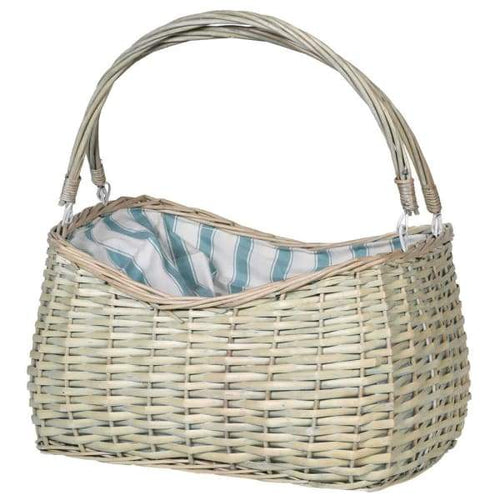 White Two Person Picnic Basket Homeware Coach House