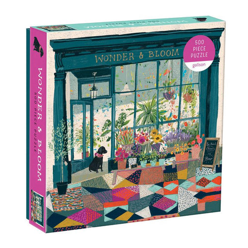 Wonder and Bloom 500 Piece Puzzle Gift Abrahms and Chronicle
