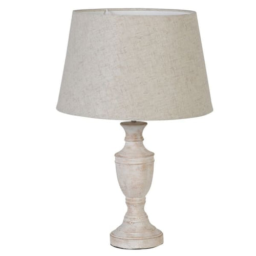 Wood Effect Lamp with Shade Lighting Coach House