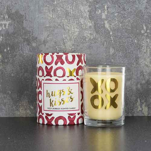 XOXO Hugs and Kisses Candle Home Fragrance Candlelight