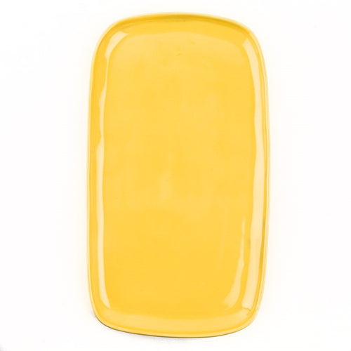 Yellow Antipasti Plate Homeware Quail