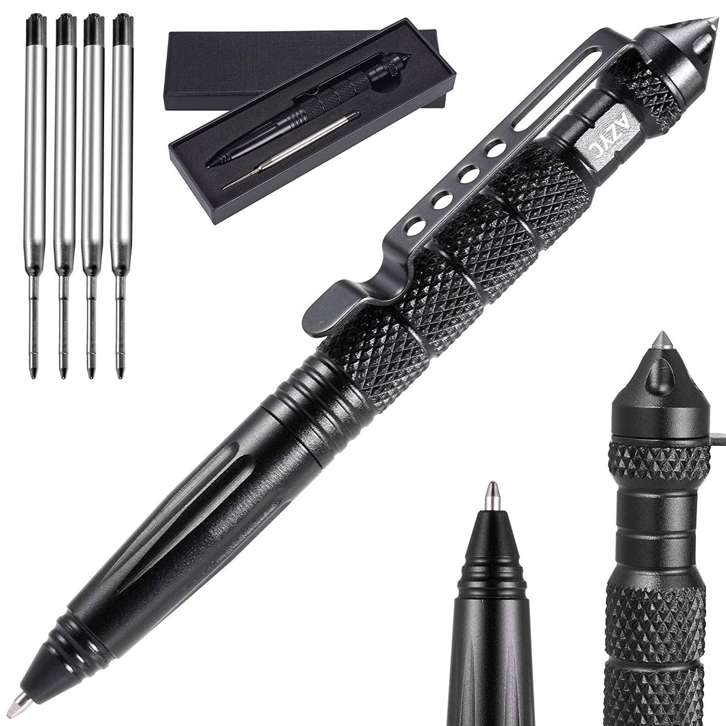 Heavy-Duty Tactical Pen w/ Carbide Tip