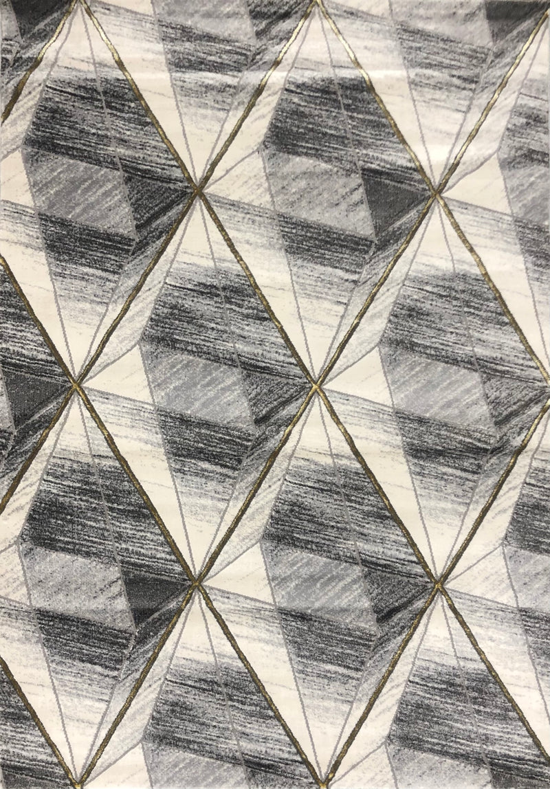 A RUG | ALMIRA G7506 DARK GREY L.GREY | Quality Rugs and Furniture