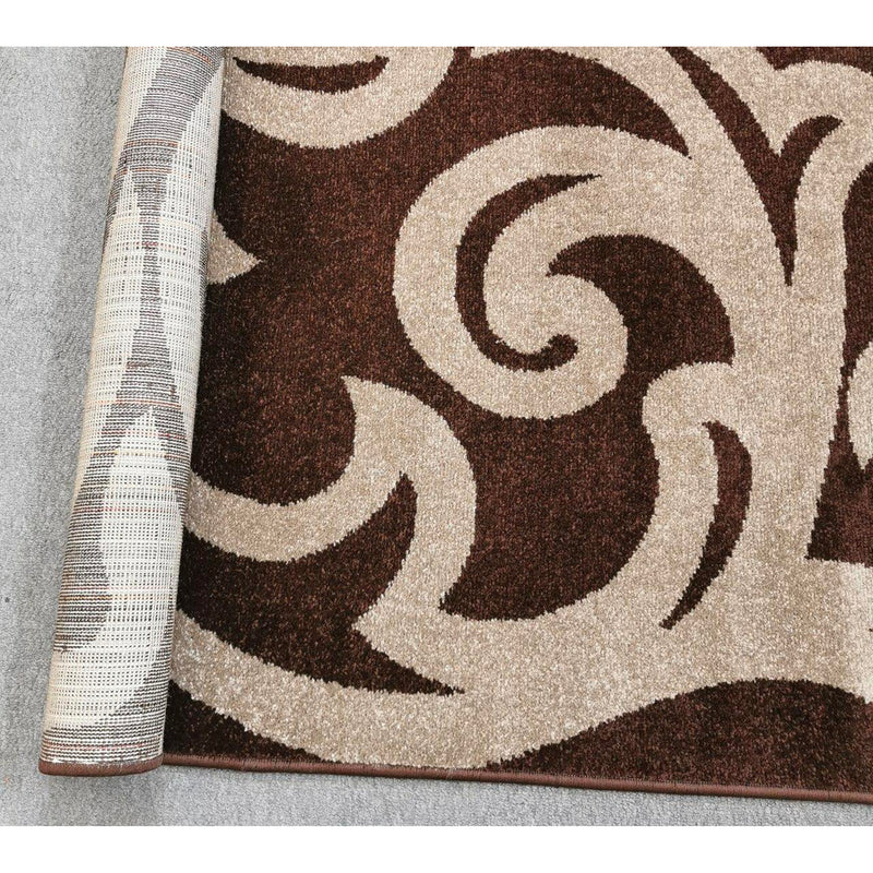 A RUG | FAIRY M295 DARK BROWN | Quality Rugs and Furniture