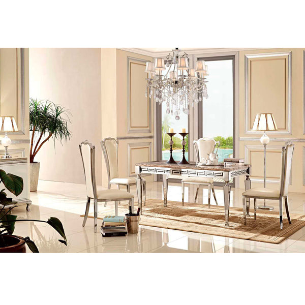 A DINING TABLE | VERSACE DINING TABLE | Quality Rugs and Furniture