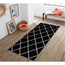 A RUG | JASMINE FE420 BLACK CREAM | Quality Rugs and Furniture