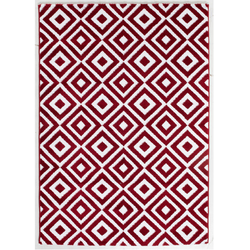 A RUG | JASMINE FE422 RED CREAM | Quality Rugs and Furniture