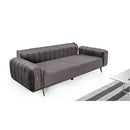 A COUCH | VERSACE FABRIC SOFA SET | Quality Rugs and Furniture