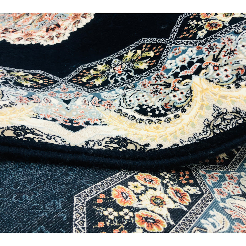 A HALLWAY RUNNERS | ZARTOSHT HALLWAY RUNNERS 4999 NAVY | Quality Rugs and Furniture