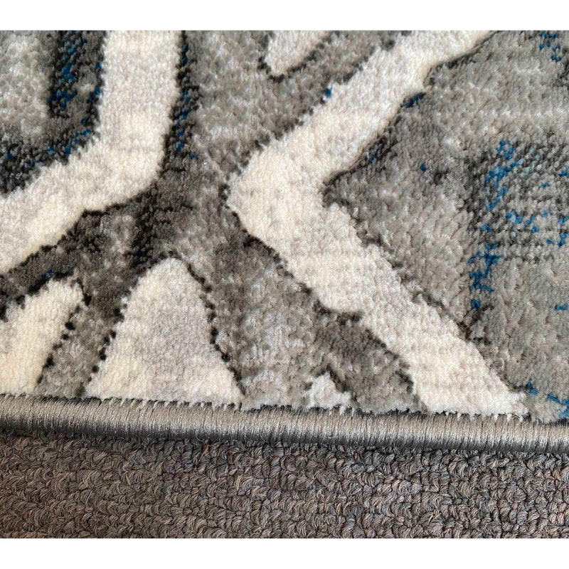 A RUG | FLORA 2998A L.BLUE / L.GREY | Quality Rugs and Furniture