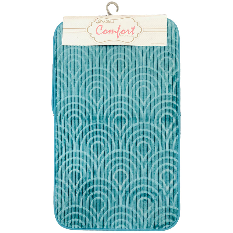 A BATH MAT | AKSU BATHSET AQUA SEA | Quality Rugs and Furniture