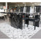 A DINING TABLE | NEWCASTLE DINING TABLE BLACK | Quality Rugs and Furniture