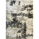 A RUG | CENTURY 30495 CREAM/BLACK | Quality Rugs and Furniture