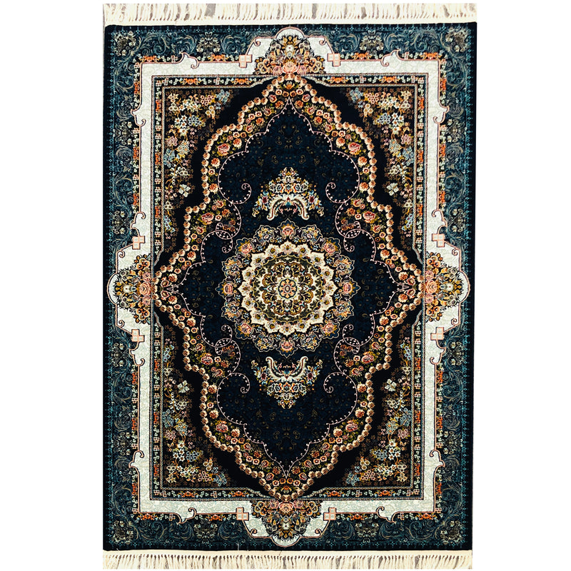 A RUG | ZARTOSHT 4717 BLACK | Quality Rugs and Furniture