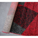 A RUG | JASMINE FE158 RED BLACK | Quality Rugs and Furniture