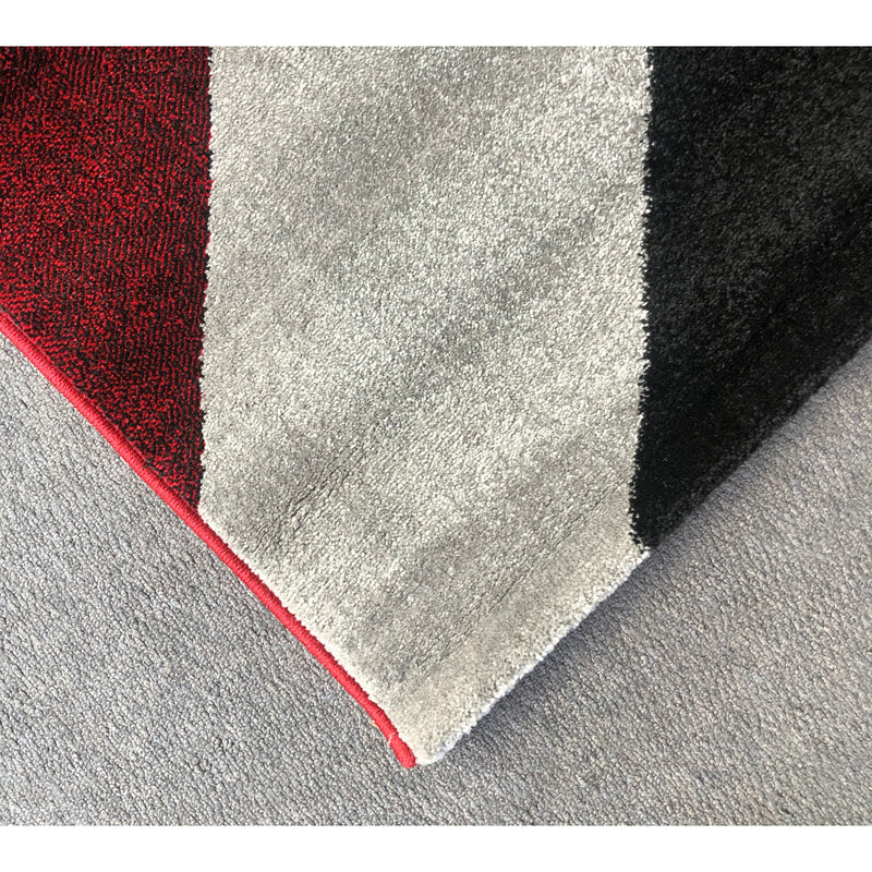 A RUG | JASMINE FE394 RED BLACK | Quality Rugs and Furniture