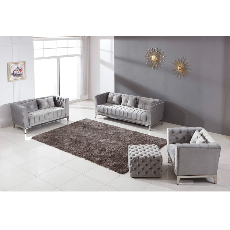 A COUCH | CARA VELVET SOFA SET | Quality Rugs and Furniture