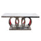A Console Table | AUDI MARBLE TOP CONSOLE TABLE | Quality Rugs and Furniture