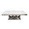 A DINING TABLE | AUDI MARBLE TOP DINING TABLE | Quality Rugs and Furniture