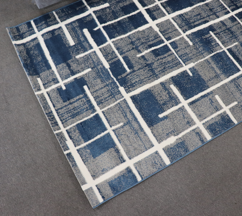 A RUG | PROMOTION G9253 BLUE GREY | Quality Rugs and Furniture