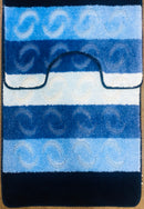 A BATH MAT | SYMBOL STRIPE BATH MAT TURMALIN-MULTI | Quality Rugs and Furniture