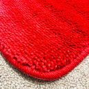 SUPER BATH MAT PLAIN-BURGUNDY