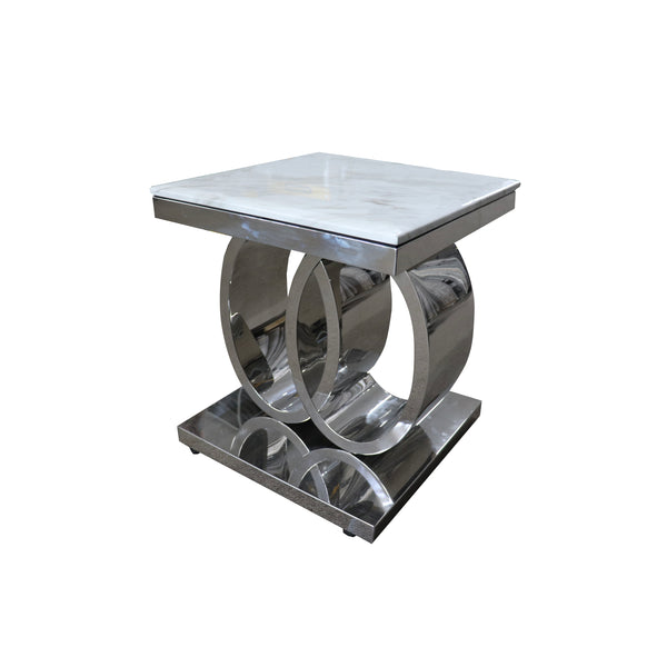 A Lamp Table | AUDI MARBLE TOP LAMP TABLE | Quality Rugs and Furniture