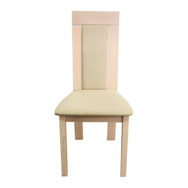 MILKY WHITE DINING CHAIR