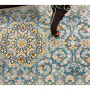 A HALLWAY RUNNERS | TRADITIONAL HALLWAY RUNNER 5252 BLUE | Quality Rugs and Furniture