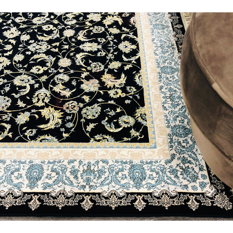 A HALLWAY RUNNERS | ZARTHOSHT HALLWAY RUNNER 4819 NAVY | Quality Rugs and Furniture