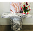 A Console Table | NEWCASTLE CONSOLE TABLE GREY | Quality Rugs and Furniture