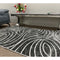 A RUG | FLORA 3029A D.GREY / D.GREY | Quality Rugs and Furniture
