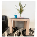 Milky White Side Table