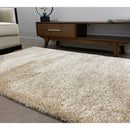 A RUG | DULUX SHAGGY PLAIN BEIGE | Quality Rugs and Furniture