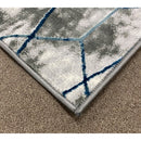 A RUG | FLORA 2997A L.BLUE / L.GREY | Quality Rugs and Furniture
