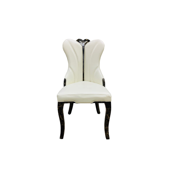932 LEATHER DINING CHAIR