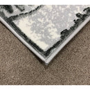 A RUG | FLORA 3027A D.GREY / D.GREY | Quality Rugs and Furniture