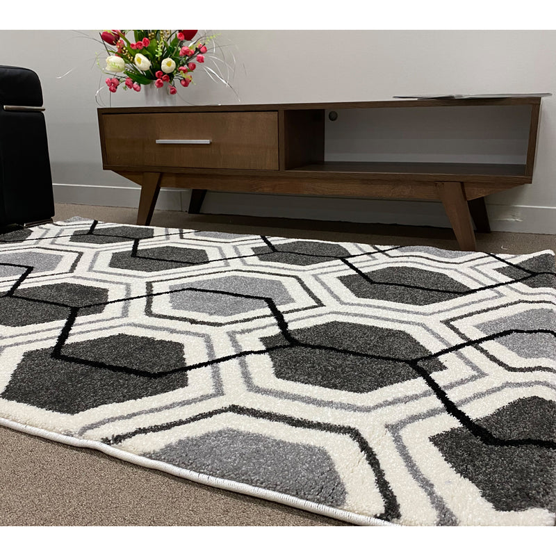 A RUG | PARIS M602 GREY | Quality Rugs and Furniture